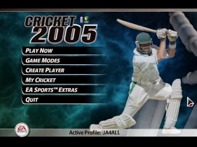 Download EA Cricket 2005 Game Setup Exe