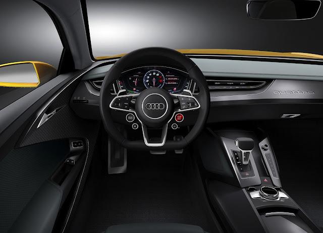 2013 Audi quattro interior