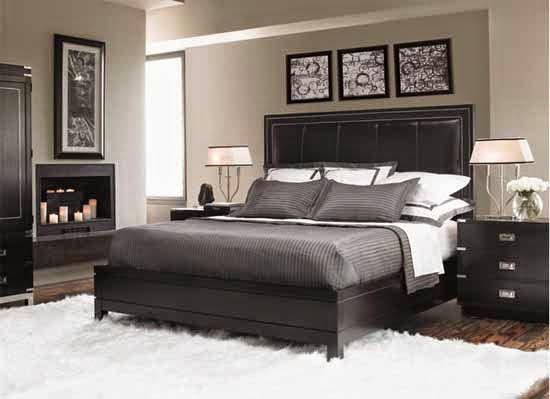 black ice bedroom set collection by lexington interior