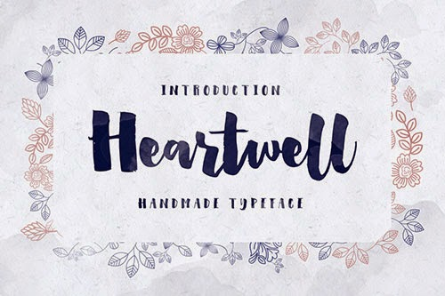 Heartwell-font-free