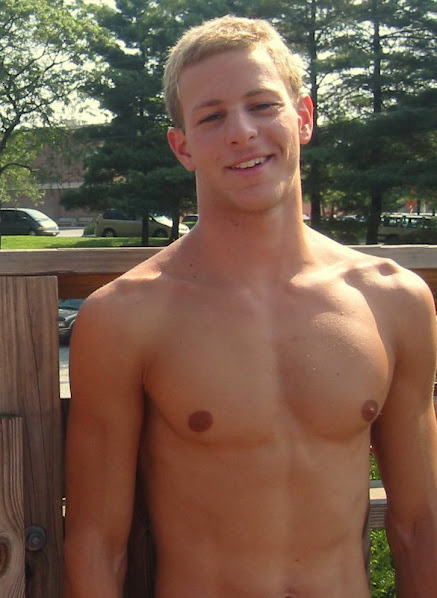 Blonde Guy Outdoor