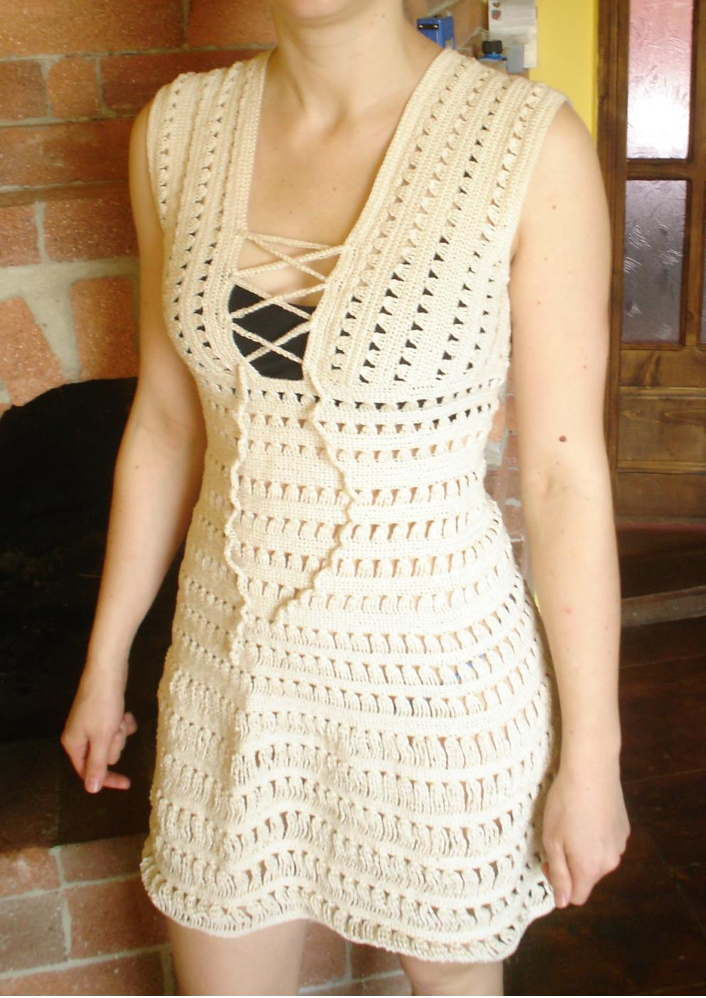 Cossalina - Crochet Bikini and Swimwear, Handmade Crochet Dresses ...