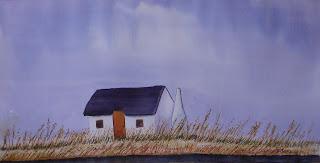 watercolor,acuarela,aquarel·la,la tancada,paisatge,landscape,paisage,delta del ebre,rmora,roger mora,aquarel·les