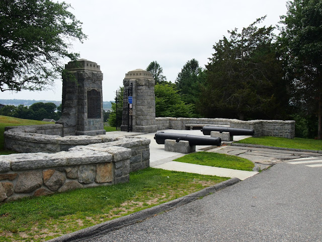 The entrance to Fort Griswold State Park
