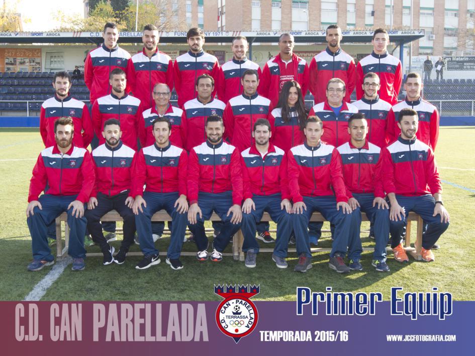 C.D.CAN PARELLADA TEMPORADA 2015-16