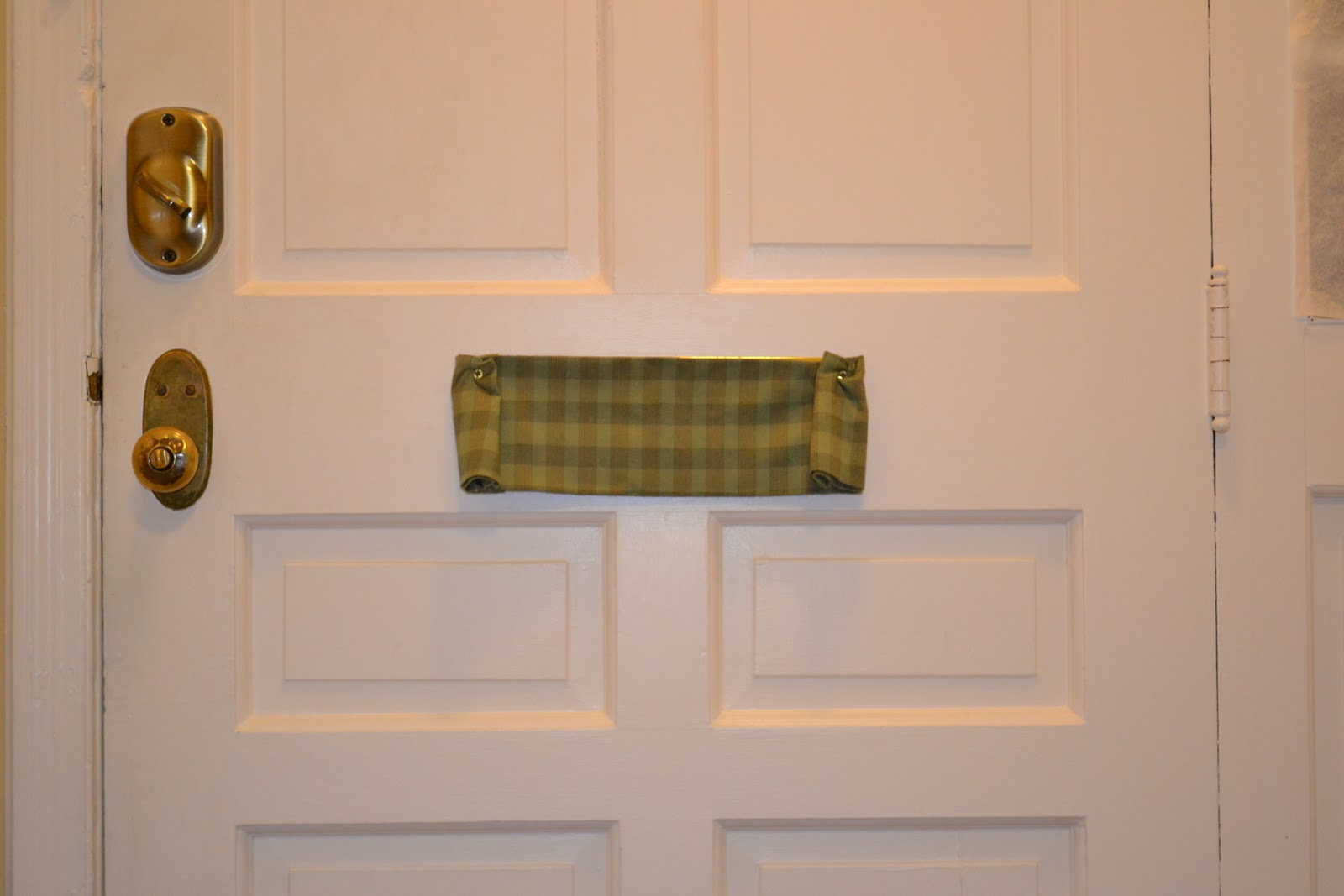 Mail Slot Cover (interior)