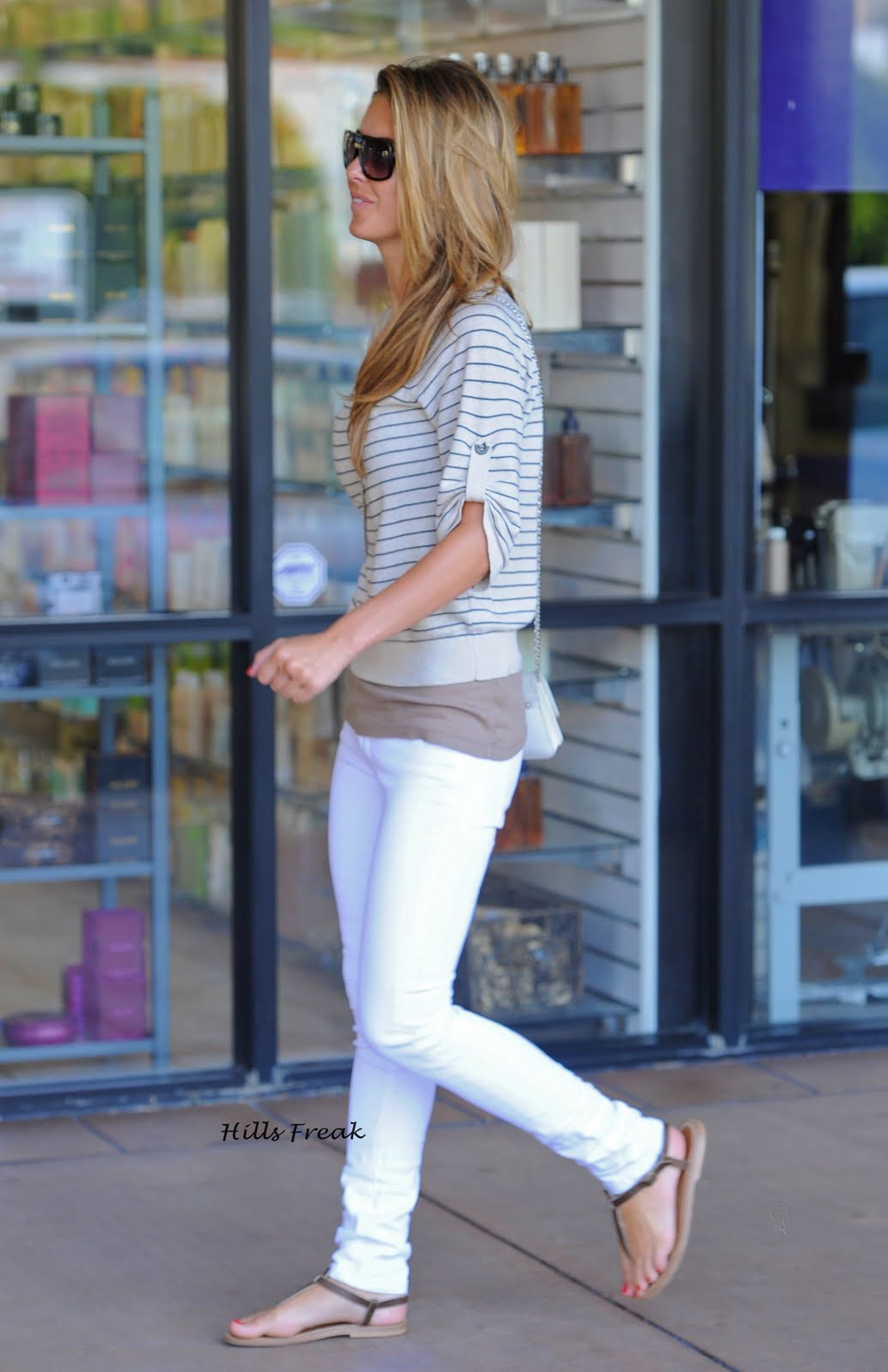 Hills Freak: Audrina Partidge: Out & About in Studio City