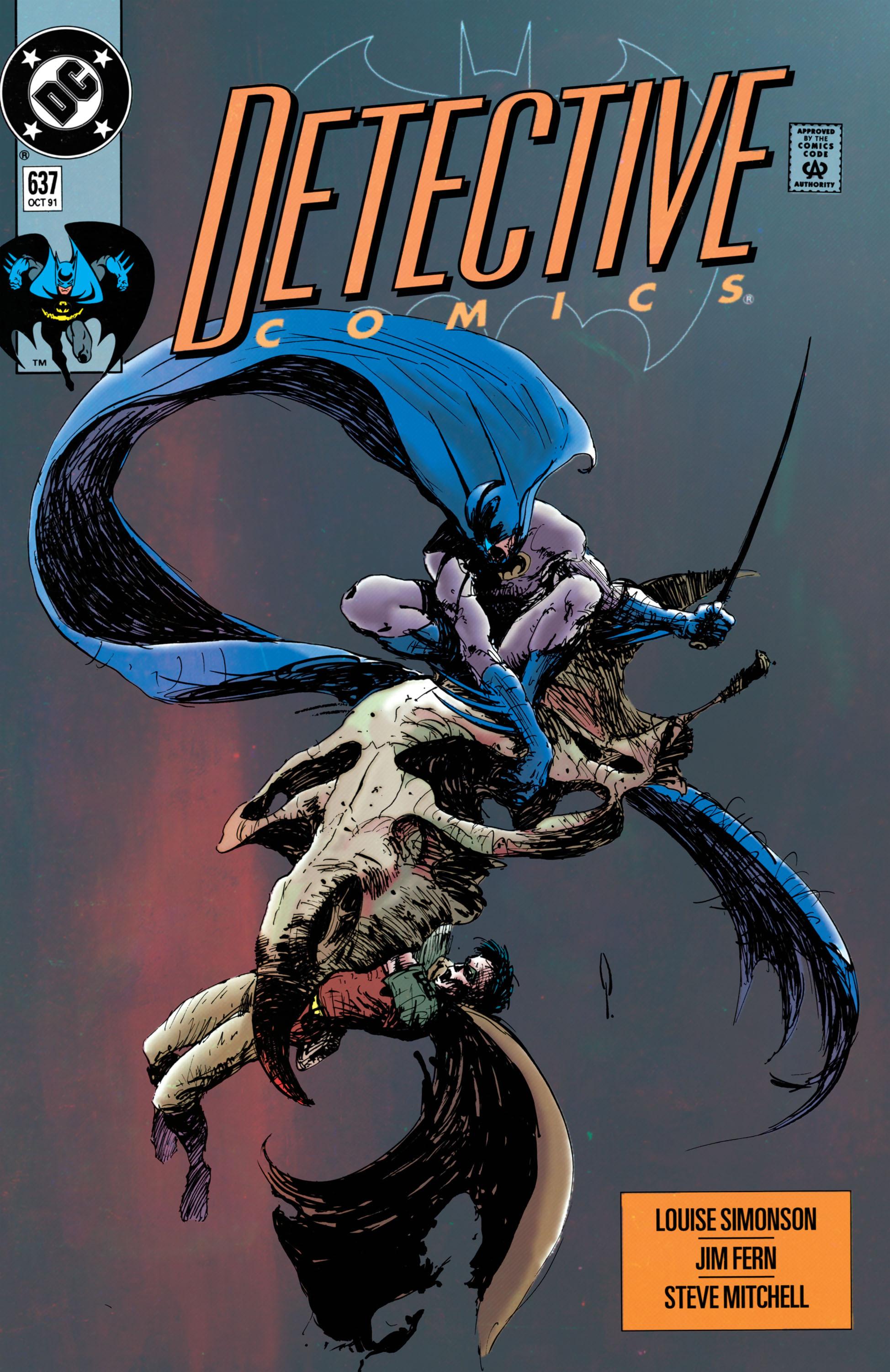 Detective Comics (1937) 637 Page 1
