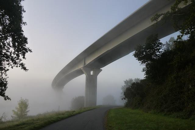 Viaduc de la Belle Anguille, au dessus de la Vilaine, à  Redon