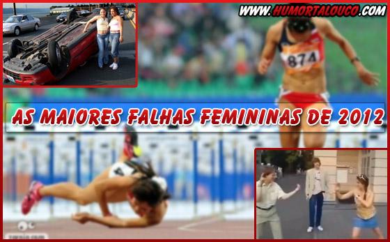 Os maiores FAILs de mulheres em 2012