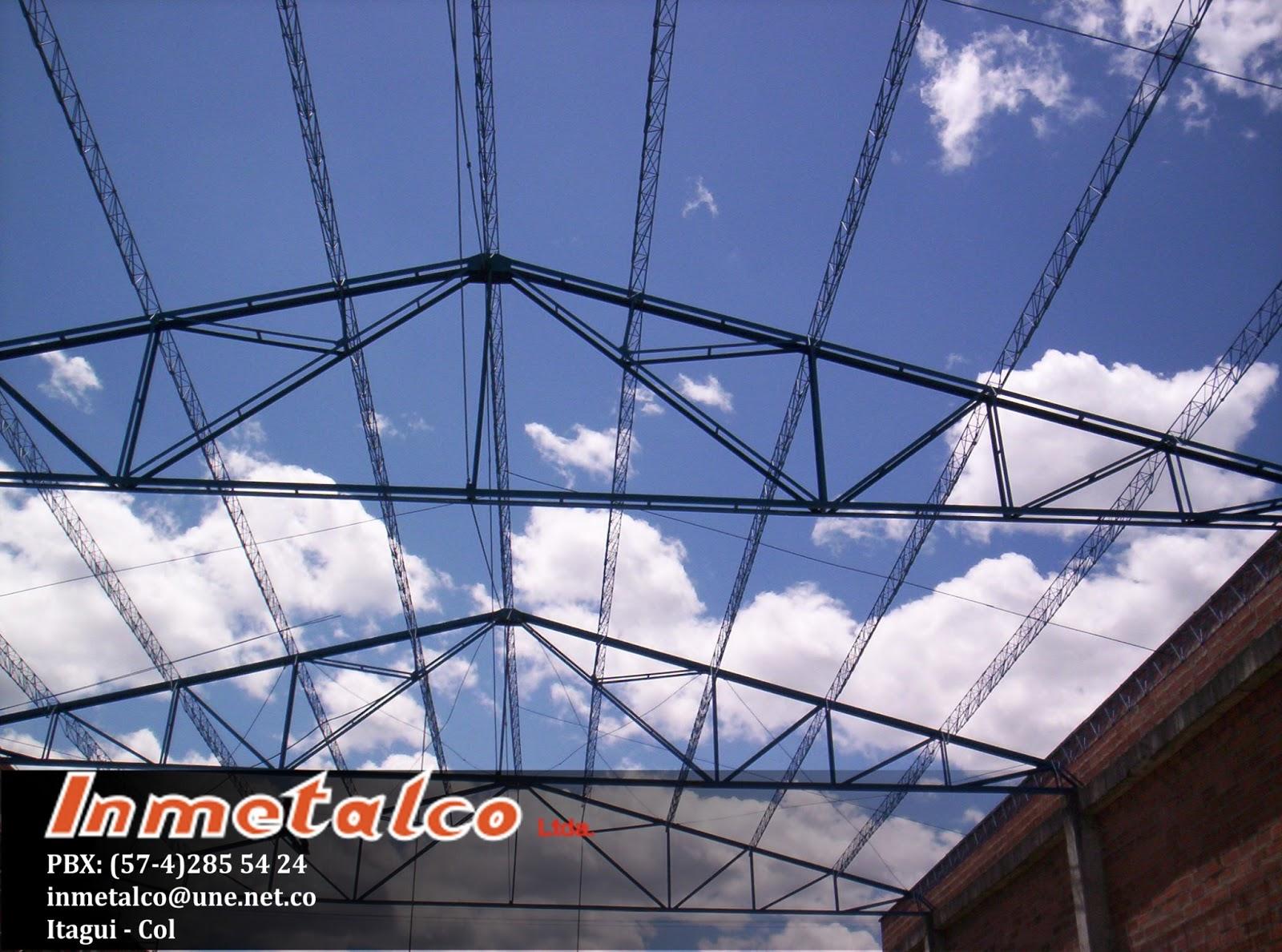 Inmetalco sas - Estructuras metalicas tipos ...