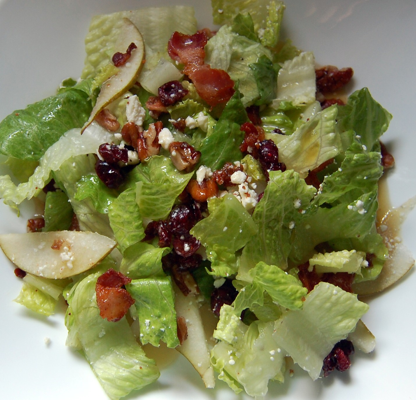 Cassie Craves: Autumn Chopped Salad With Maple Vinaigrette