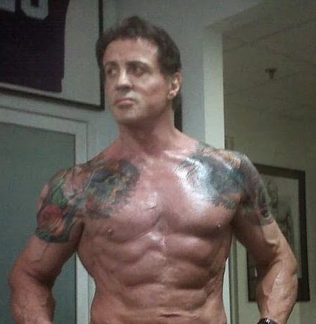 Sylvester Stallone Tattoos Real| Sylvester Stallone ...