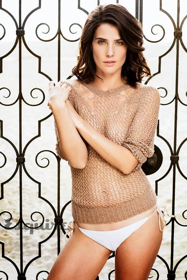 Cobie Smulders en Squire Marzo de 2014