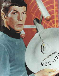 Back cover of Special Newsweek Edition: Star Trek 50th Anniversary Tribute magazine