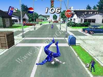 Pepsi Man Game  Xp
