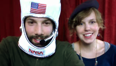Astro-Jack and Frenchie. Hey it's Pomplamoose, 2011.