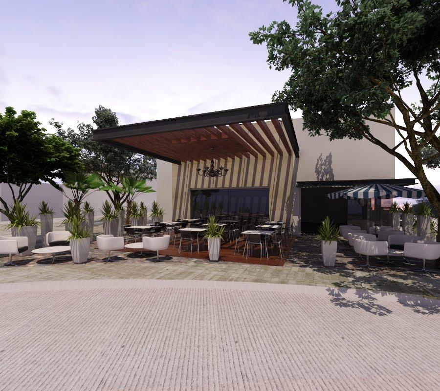 Proyectos arquitectonicos y dise o 3 d restaurantes for Salon de usos multiples programa arquitectonico
