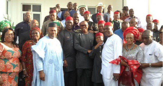 Former Anambra Governor Defects From APGA to PDP