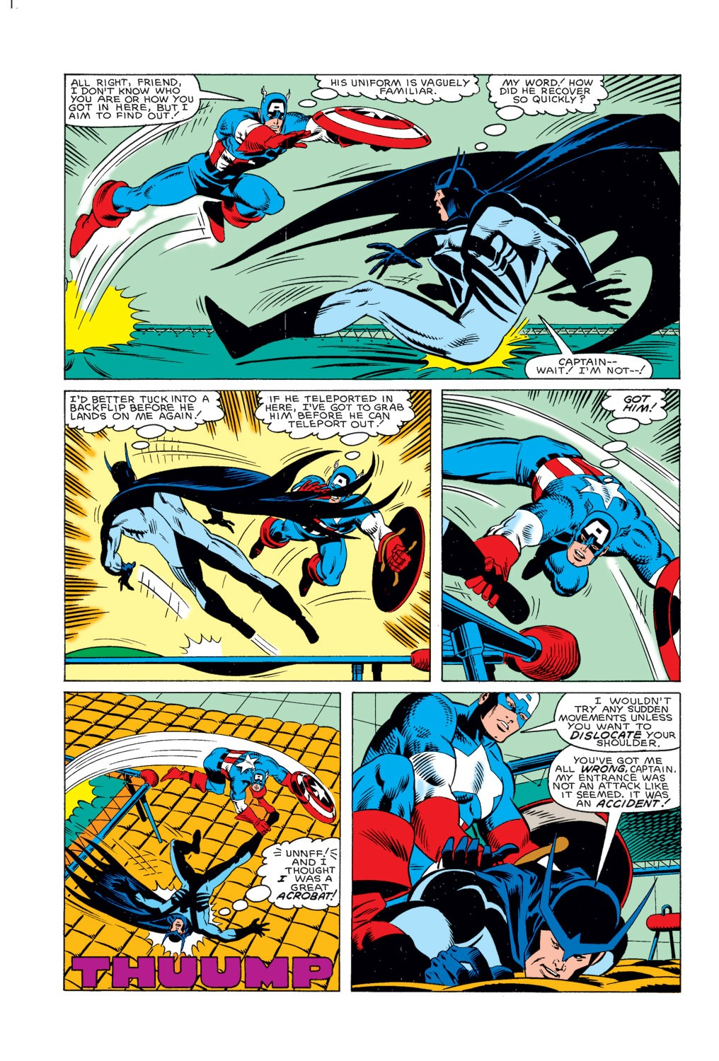 Captain America (1968) Issue #314 #242 - English 5