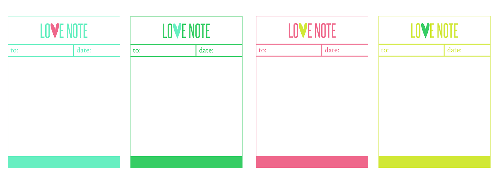 free printable valentine love notes by eighteen25 | skip to my lou