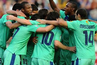 Equipos partidos amistosos de Barcelona