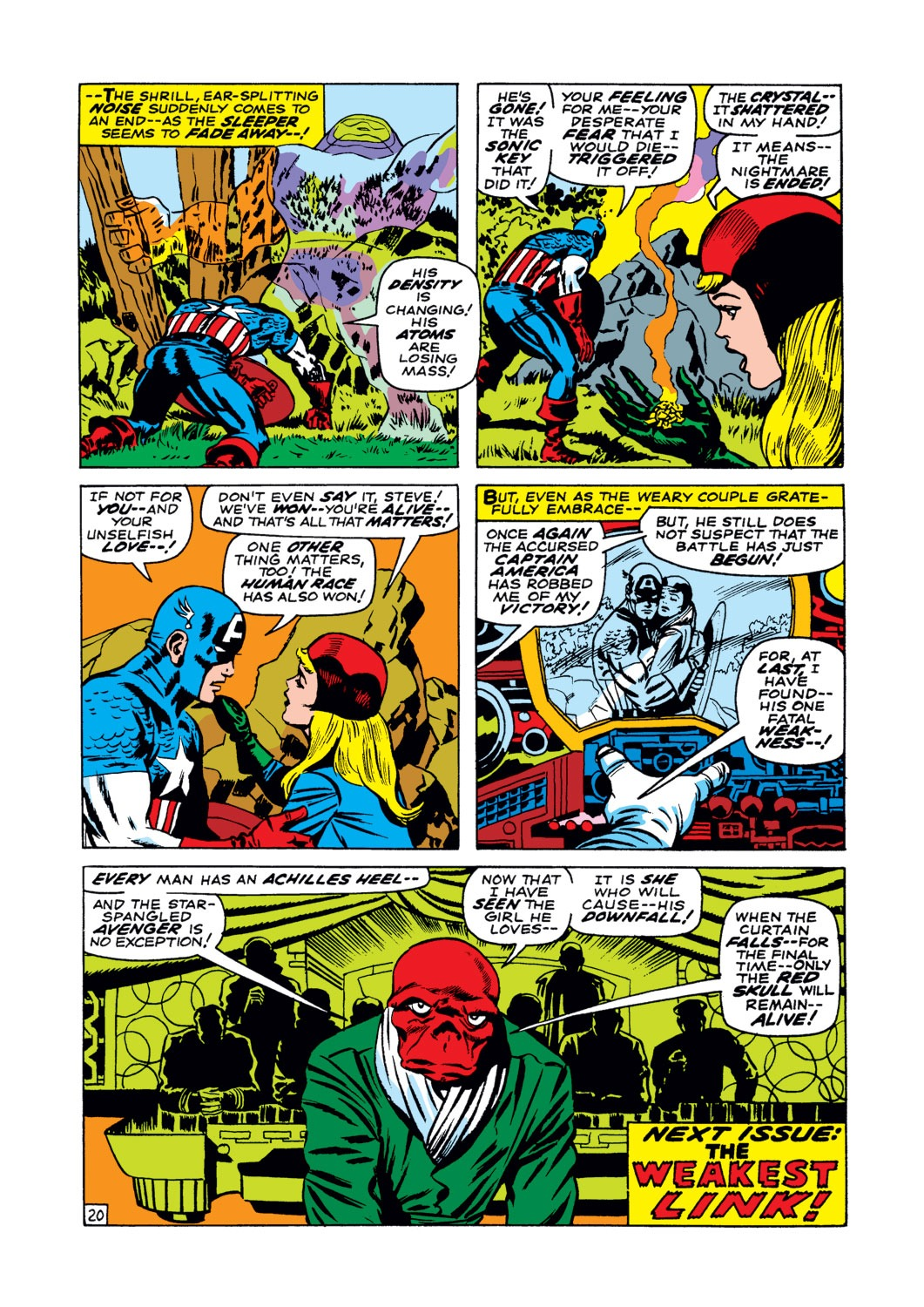 Captain America (1968) Issue #102 #16 - English 21
