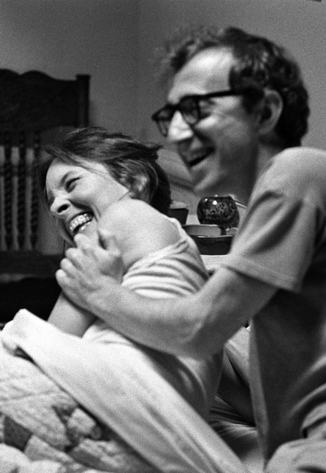 Woody Allen y Diane Keaton en Annie Hall