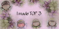 I made the Top 3 at Lovely Haenglar Only ! (Challenge n0 33)