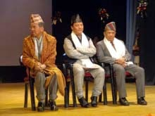 Indra Bahadur Rai Bimal Gurung  Nar Bahadur Bhandari