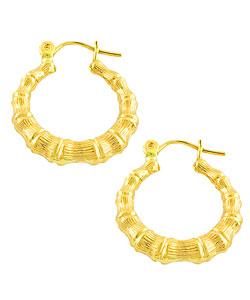 Bamboo Gold Earrings8