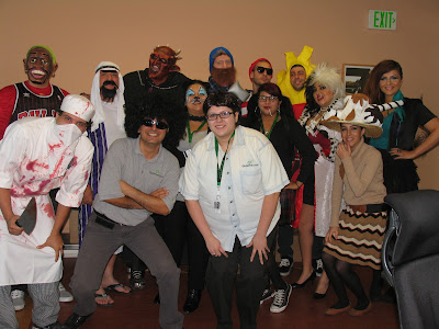 GotPrint staff costume picture halloween 2011