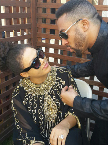 nadia buari engagement ring