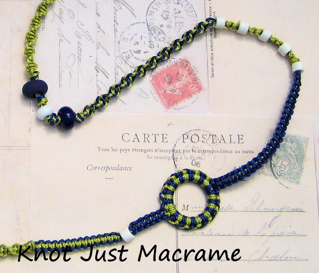 macrame knot bracelet instructions