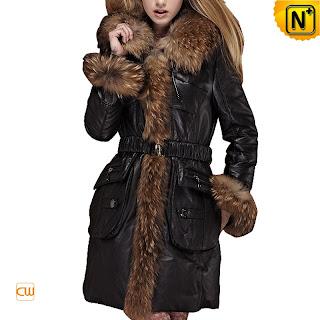 Women Black Sheepskin Coat