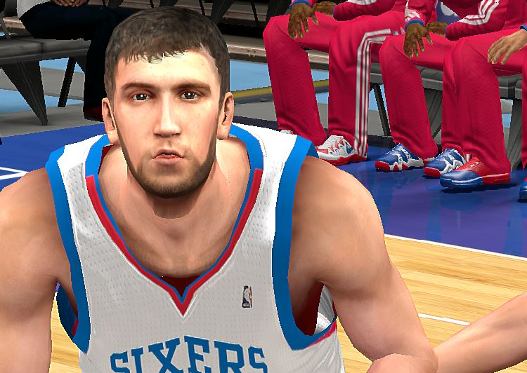 NBA2K Spencer Hawes Cyberface Patch