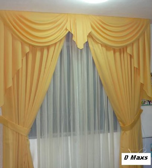 Manualidades gratis cortinas for Modelos de cortinas para salon moderno