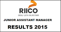 RIICO Junior Assistant Result 2015-2016 declared – Check results @ riicorecruitment.org