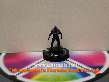 Captain America #001 The Winter Soldier Marvel Heroclix Single