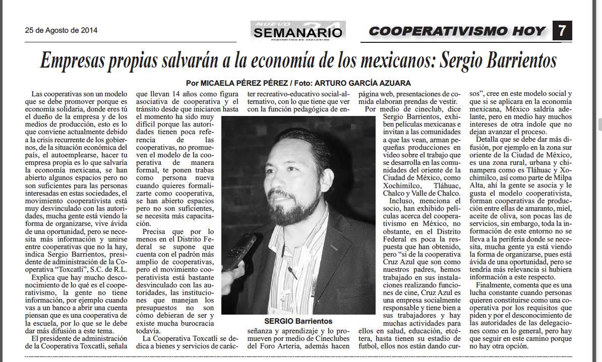 Empresas propias salvarán economía de los mexicanos