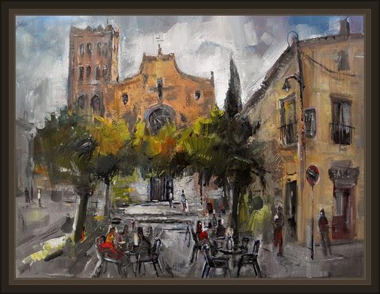 Venta pintura pintor ernest descals breda montseny girona - Pintores en girona ...