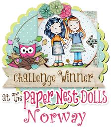 Vinner Paper Nest Dolls