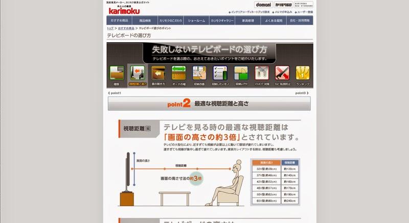 http://www.karimoku.co.jp/tvboard/
