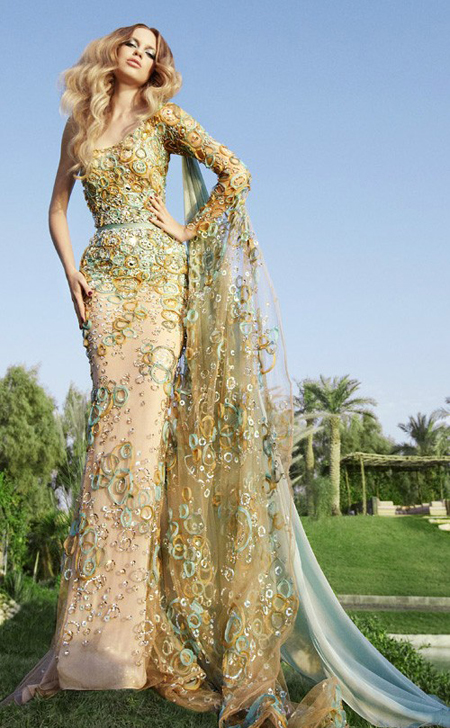 Fashion gossip the gorgeous dresses of lebanese designer for Lebanese wedding dress designers