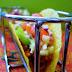 Taco z mięsem mielonym i salsa cruda