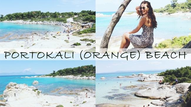 Travel video: PORTOKALI (Orange) BEACH | Best Sithonia beaches.Video:Portokali Orange plaza,Sitonija,Sarti,Halkidiki,Grcka.
