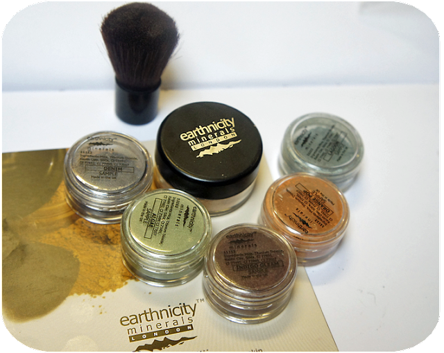 Earthnicity Mineral Eyeshadows