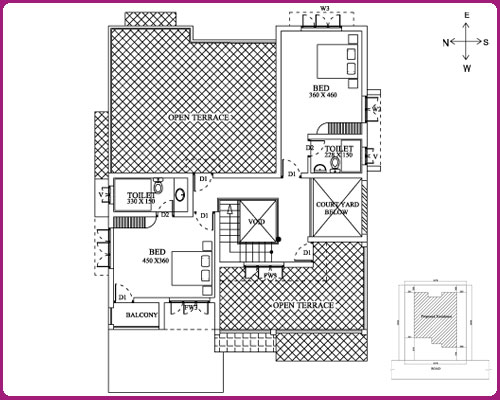BEAUTIFUL HOUSE PLANS  KERALA HOME PLANS