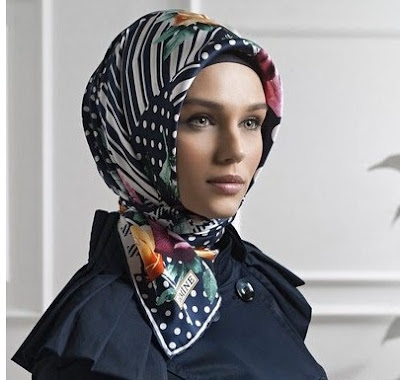indian head scarf how to wear