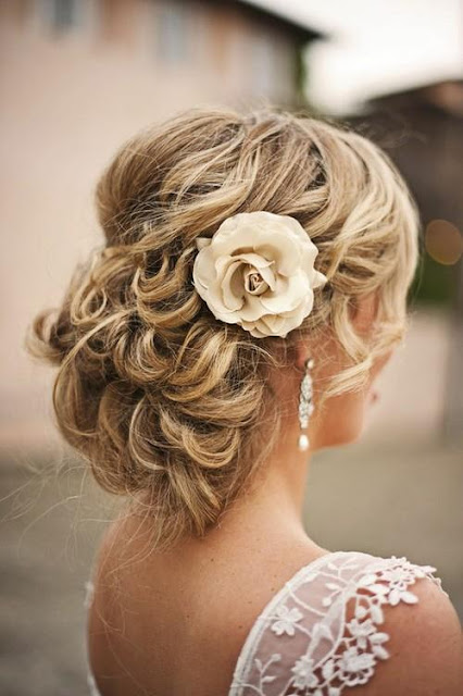 colored-purple-pink-maron-french-braid-flower-braid-long-hair  34  jpgWedding Hairstyles For Long Hair With Flowers Braid